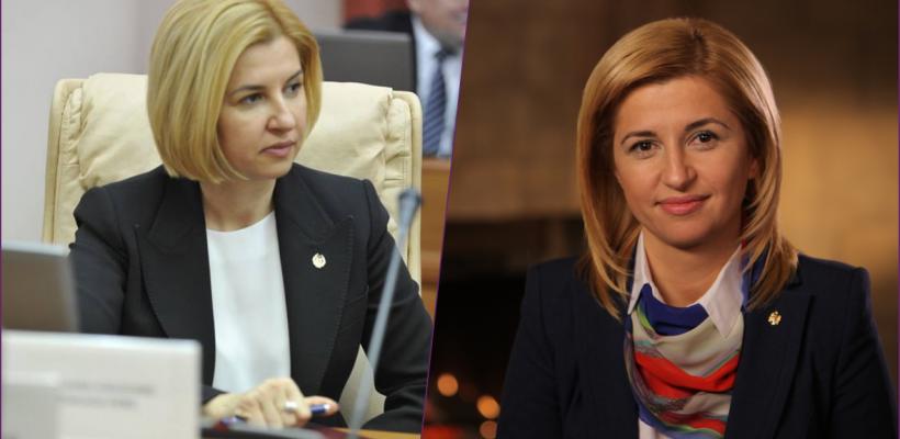 Irina Vlah are o nouă frizură. Bașcanul nu a renunțat însă la culoarea părului (Foto)