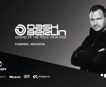 Dash Berlin, unul dintre cei mai tari DJ internaționali, ajunge la Chișinău! Vezi detalii