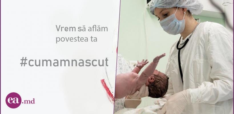#Cumamnăscut în Moldova: Copil traumat la naștere, eu nu mai vreau alți copii, iar doctorii au uitat un tampon în vagin