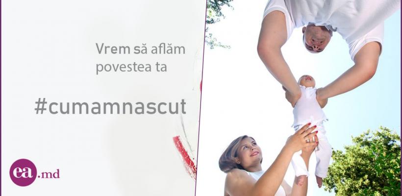 """Vika Tutunaru încurajează femeile în campania #Cumamnăscut: """"Sunt și oameni cu suflet bun în Moldova noastră"""""""