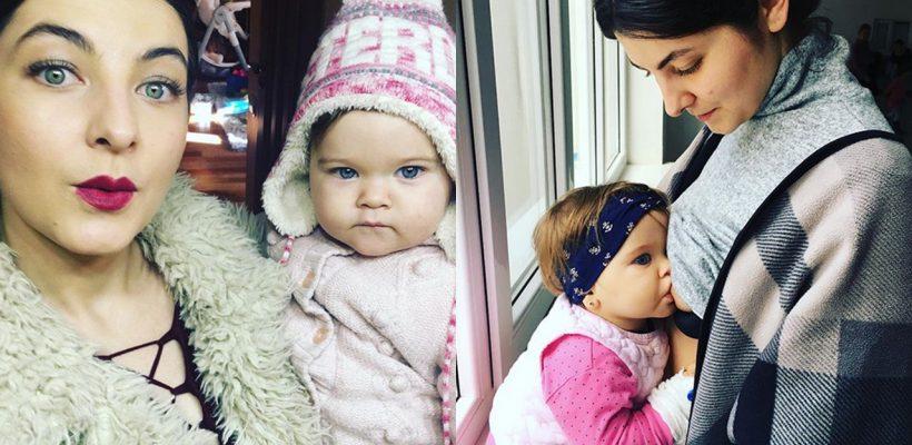 Olesea Sveclă, într-o ipostază deosebită alături de fiica sa! Cum au fost surprinse cele două