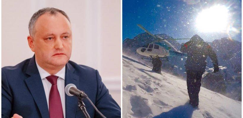 Președintele Republicii Moldova se odihnește în munții Altai. Pozele distribuite de Igor Dodon taie răsuflarea