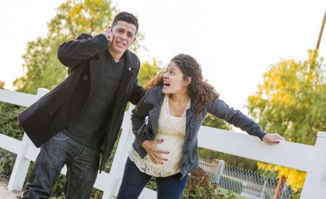 4 semne că partenerul tău nu vrea să asiste la naștere. Le-ai observat?!