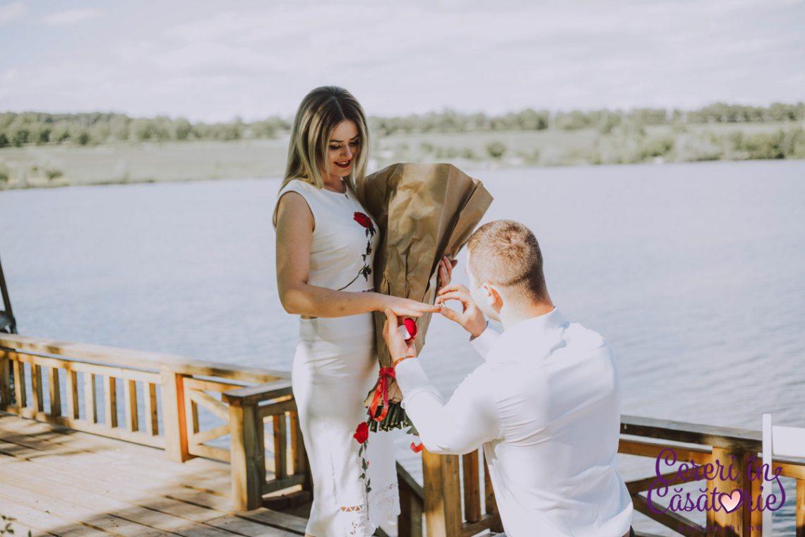 La două luni de când s-au cunoscut a avut parte de cea mai frumoasă zi din viața ei. #Cummacerut cu Cristina și Yulian (Foto)