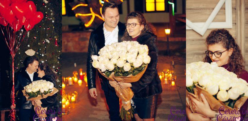 Emoții la pătrat! Povestea de dragoste a Marianei și a lui Boris a culminat cu o cerere în căsătorie de poveste (Foto)