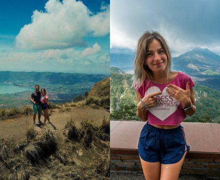 """#Cummacerut """"Nu m-am gândit niciodată că voi fi cerută pe muchia craterului unui vulcan activ"""" (Foto/Video)"""