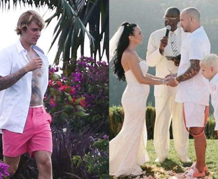 Justin Bieber va avea încă o surioară. Starul american a participat de curând la nunta tatălui său