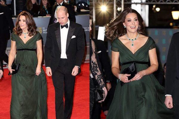 Apariția care nu va fi uitată prea curând! Kate Middleton a uimit cu alegerea ei la premiile BAFTA