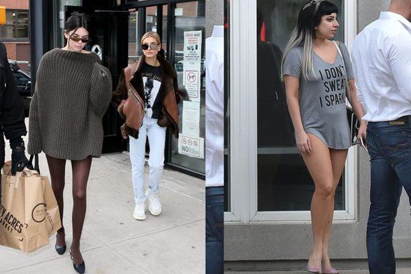 Și-au uitat hainele acasă? Vedeta care se afișează cam dezbrăcate pe stradă (Foto)