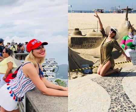 Dianna Rotaru arată impecabil în costum de baie! Interpreta a avut parte de o vacanță de vis în Brazilia