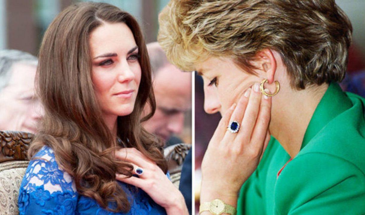 Adevărul controversat despre inelul de logodnă a Prințesei Diana, pe care îl poartă acum Kate Middleton – ea.md