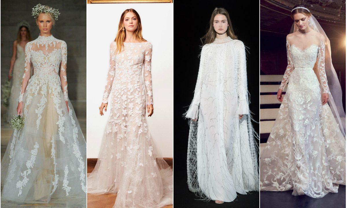 Nuntă în Sezonul Rece Vezi 30 De Modele De Rochii De Mireasă Cu
