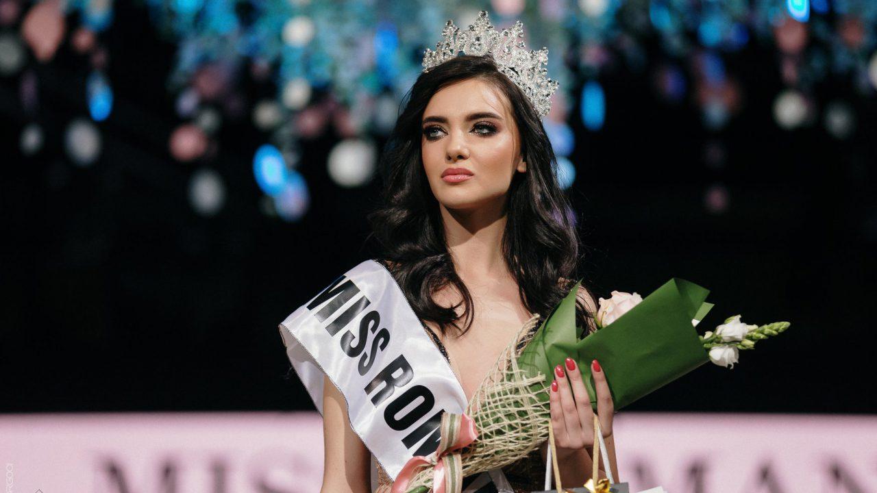 """O moldoveancă a câștigat titlul Miss România 2019: """"E greu ..."""