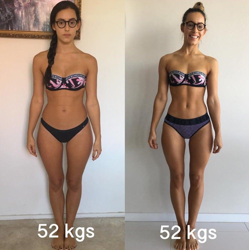cum arată corpul în greutate