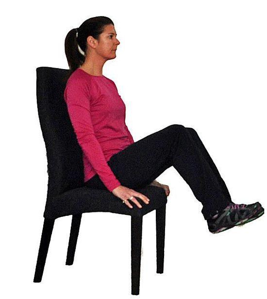 exerciții de la varicoză ședinței pe un scaun