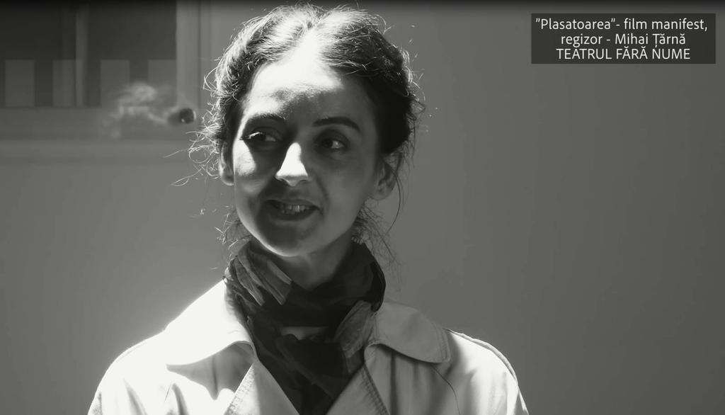 """Elena Frunze-Hatman, actrița Teatrului """"Alexei Mateevici"""", protagonista noului scurtmetraj """"Plasatoarea"""" (Video)"""